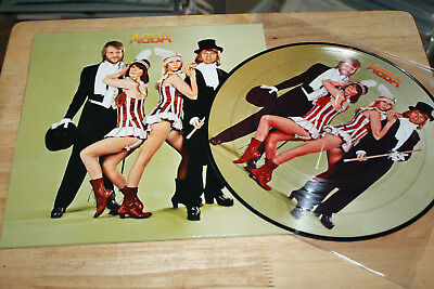 ABBA - Super Trouper - Rare Ltd Edition Abba Fan Club Japan Picture Disc - TOP