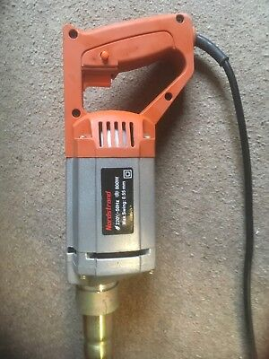 Nordstrand hand held concrete vibrator/poker used but in great working condition