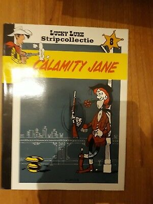 Lucky Luke - stripcollectie - nr 8 - calamity jane