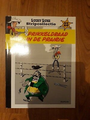 Lucky Luke - stripcollectie - nr 23 - prikkeldraad in de prairie