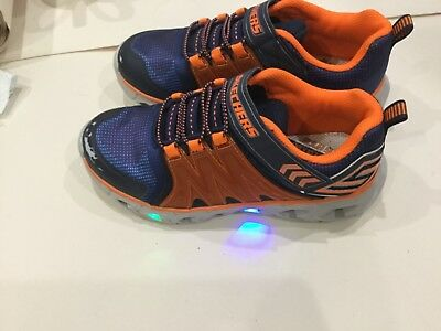 0e83cefaa76f Skechers Juniors S Lights Hypno Trainers UK 1.5 EUR 34 RRP £49