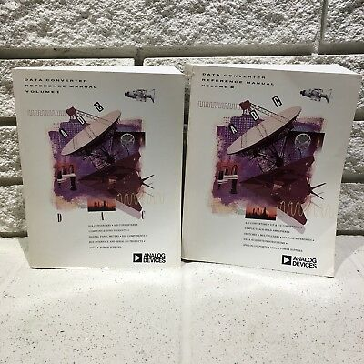 Vintage Analog Devices Data Book Data Converter Reference Manual Volumes 1 & 2