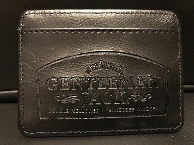 Jack Daniels Leather Wallet Card Holder , Gentlmen Jack