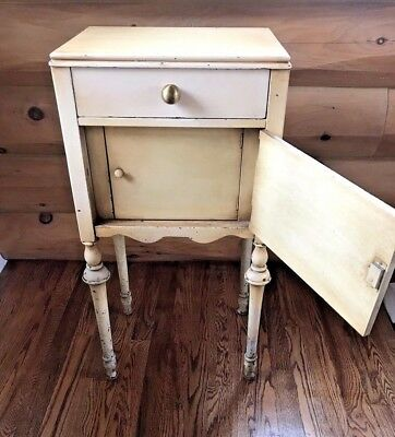 Antique Humidor/Smoking Cabinet w/ Drawer French Country Provincial