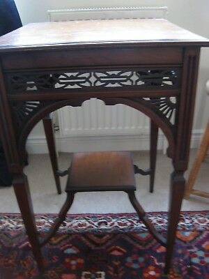 antique occasional table late Victorian/ early Edwardian