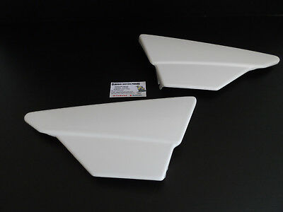 175 Dtmx Yamaha  1979 /1993 Side Covers Right And Left White
