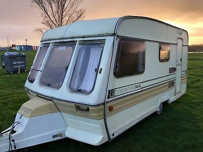 Swift Corniche 14/4 4 Berth Lightweight Touring Caravan Cheap