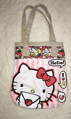 87ff813df930 Hello Kitty Canvas Sanrio Loungefly 15.5x14