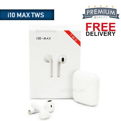 i10 MAX TWS Wireless Bluetooth Earphone Earbuds Airpods For Iphone/IOS Android