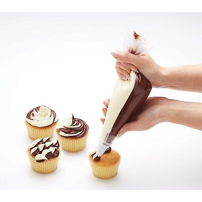 Sweetly Does It Dual Icing Set Includes 6 Nozzles 1 Coupler 6 Double Icing Bags
