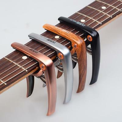 Acoustic Electric Guitar Ukulele Capo Tuner Trigger Quick Change Tune Clip