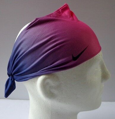 Nike Central Headband 2.0 Max Orange Binary Blue White Mens Women s 91f7ca1d59c