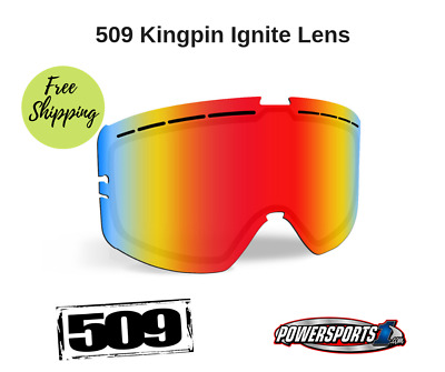 509 Ignite Kingpin Goggle Lenses Fire Mirror Rose Tint 509-Kinlen-18-Fri