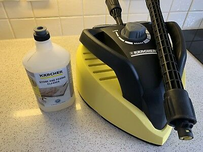Karcher T450 T-Racer - With Stone And Paving Cleaner - And One Extension Pole