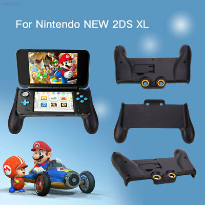 6118 Black Hand Grip Case Protector Cover Holder For Nintendo New 2DS XL Game