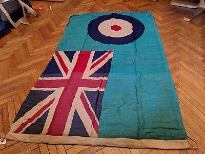 Ww2 RAF Battle Of Britain Advanced Station Ensign Flag c1940