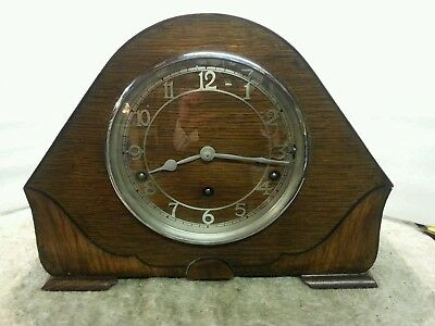 Lovely garrard westminster chimes clock