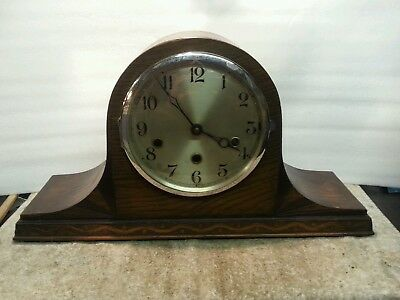 Antique art deco napoleon westminster clock