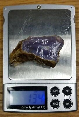 Holly Blue Agate, Sweet Home Oregon, 38.3 GRAMS 1.35 Ounces! Old Estate Stock #2