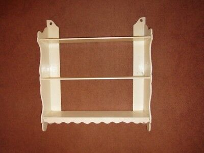 Decorative hardwood hanging shelves, suitable for china/ glass etc