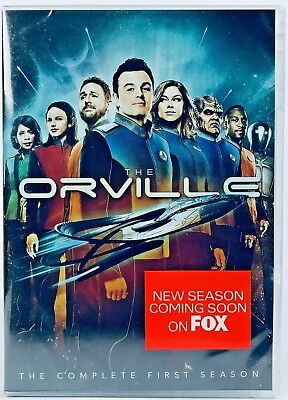 The Orville: Season 1 (2018 DVD, 4-Disc Set) Seth MacFarlane -Fast Free Shipping