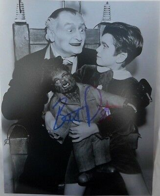 The Munsters Eddie Munster  Butch Patrick Hand Signed 8x10 Photo w/  COA