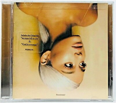 Ariana Grande - Sweetener [New CD, 2018] Explicit - FREE FAST SHIPPING