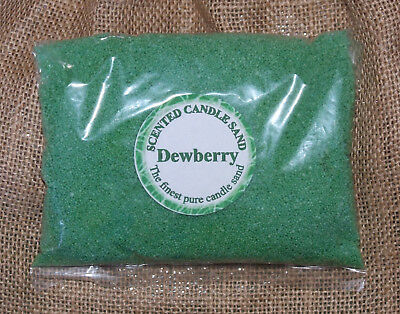 Candle Making Sand Dewberry Scented Green 1kg Sand 1000g Craft Clearance Bargain