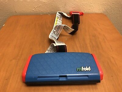 EUC Mifold Grab-and-Go Car Booster Seat *FREE SHIPPING* a5q