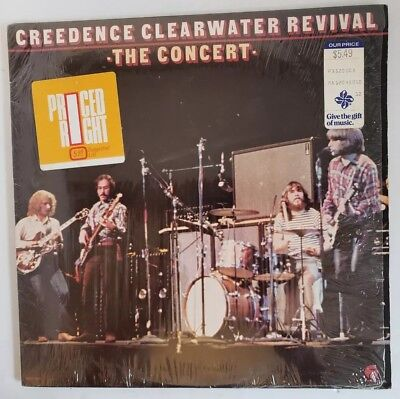 Creedence Clearwater Revival -The Concert- LP Fantasy Records MPF-4501-Vinyl VG