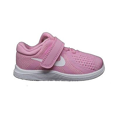 huge selection of 76b1e 25f9f NIKE REVOLUTION 4 TDV ROSE chaussures de bébé Baskets Bébé fille 943308 603
