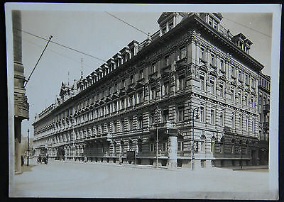 Photo HOTEL CONTINENTAL around 1930, Berlin Deutschland, before war WWII