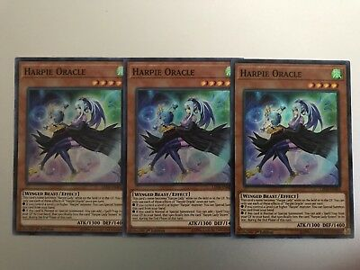 HARPIE ORACLE x3 | Super Rare | LED4-EN002 Sisters of the Rose YuGiOh