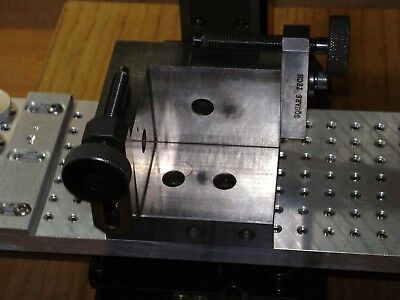 """Square Tec 3-1/4""""x 2-3/4""""x 2-3/4"""" Workholding Fixture With Clamps,sherline,taig."""