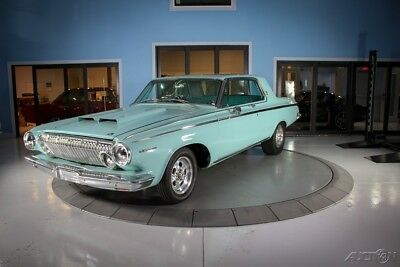 1963 Dodge Polara Super Stock Tribute Classic Polar Blue Color Matched Interior and Exterior