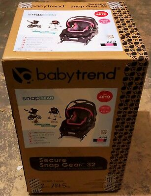 Baby Trend Secure Snap Gear 32 Infant Car Seat Ariel NEW