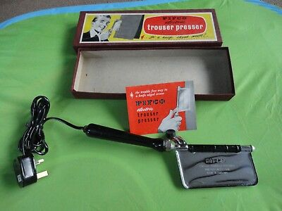 New Unused  Boxed Vintage Retro  Pifco Trouser Presser With Paperwork