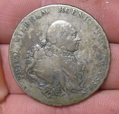 Prussia (Germany) - 1789 Large Silver Thaler