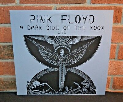 PINK FLOYD - A Dark Side Of The Moon Live, Limited Import 2LP BLACK VINYL New!