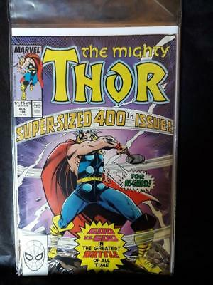 The Mighty Thor vol 1 No 400 (February 1989) - Very Good cond - Marvel Comics