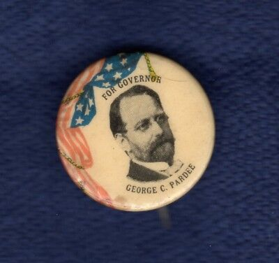 George Pardee San Fran Oakland California Governor Dr Political Pinback Button
