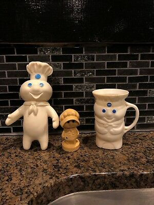 Vintage Pillsbury Doughboy Cup Doll Poppie Pepper 1971 1974 1979