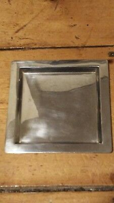 "Tiffany & Co Makers Sterling Silver  Tray 5 3/4"" Square NO MONOGRAM"