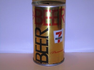 7 Eleven Pull Top Beer Can