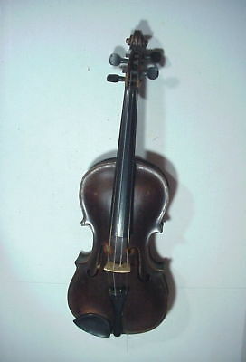 STAINER Antique VIOLIN with 2-Piece TIGER MAPLE BACK --  READY TO PLAY