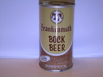Frankenmuth Bock Pull Top Beer Can