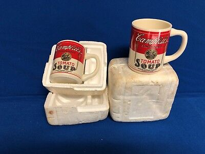 Vintage Campbell's Soup Mugs Set of 2