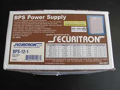 Securitron BPS-12-1 12 Volt Power Supply