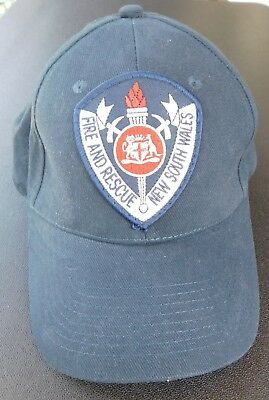Fire and Rescue New South Wales Baseball Cap - New Condition