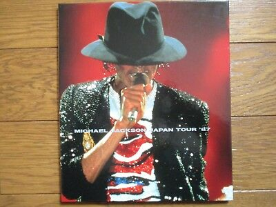 MICHAEL JACKSON 1987 JAPAN TOUR N/F/Sale BOOK w/ Signed Handprint Exist ONLY 100